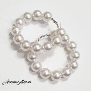 cercei perle 2019 accesorii alese